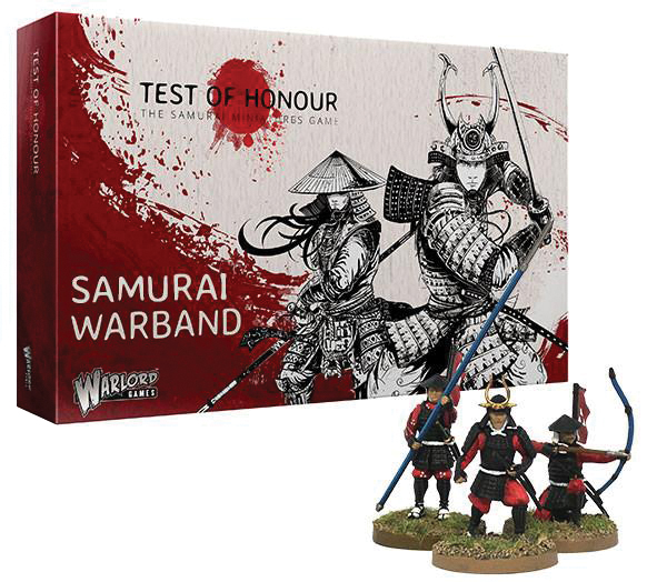 Test Of Honour: Samurai Warband Box Front