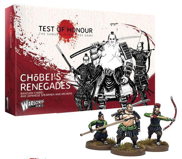 Test Of Honour: Chobeis Renegades Box Front