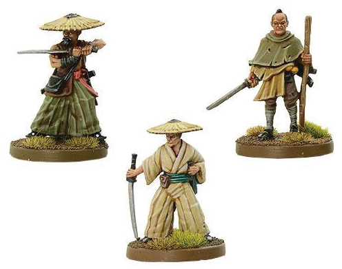 Test Of Honour: Bandits And Brigands Swordsmen Box Front