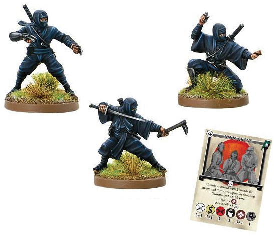 Test Of Honour: Ninja Blister Box Front