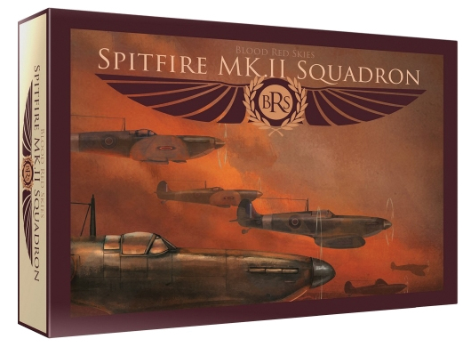 Blood Red Skies: British Spitfire - 6 Planes Box Front