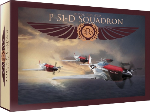 Blood Red Skies: Us P-51 Mustang - 6 Planes Box Front