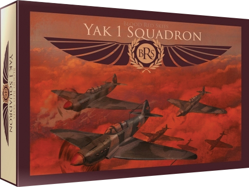 Blood Red Skies: Soviet Yak-1 - 6 Planes Box Front