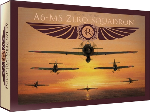 Blood Red Skies: Japanese A6mx `zero-sen` - 6 Planes Box Front