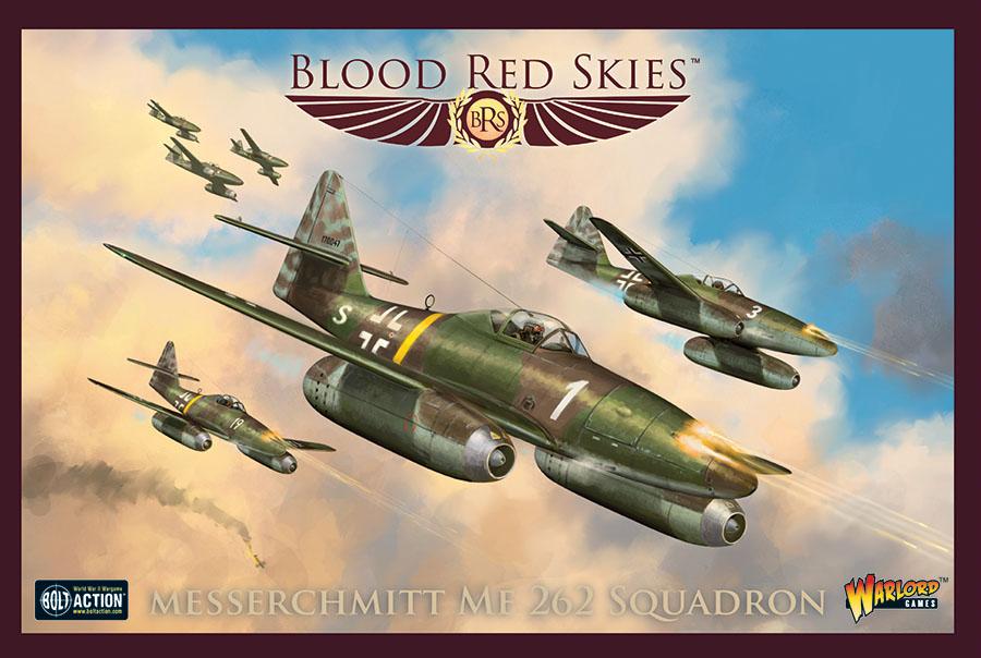 Blood Red Skies: German Messerschmitt Me 262 Squadron