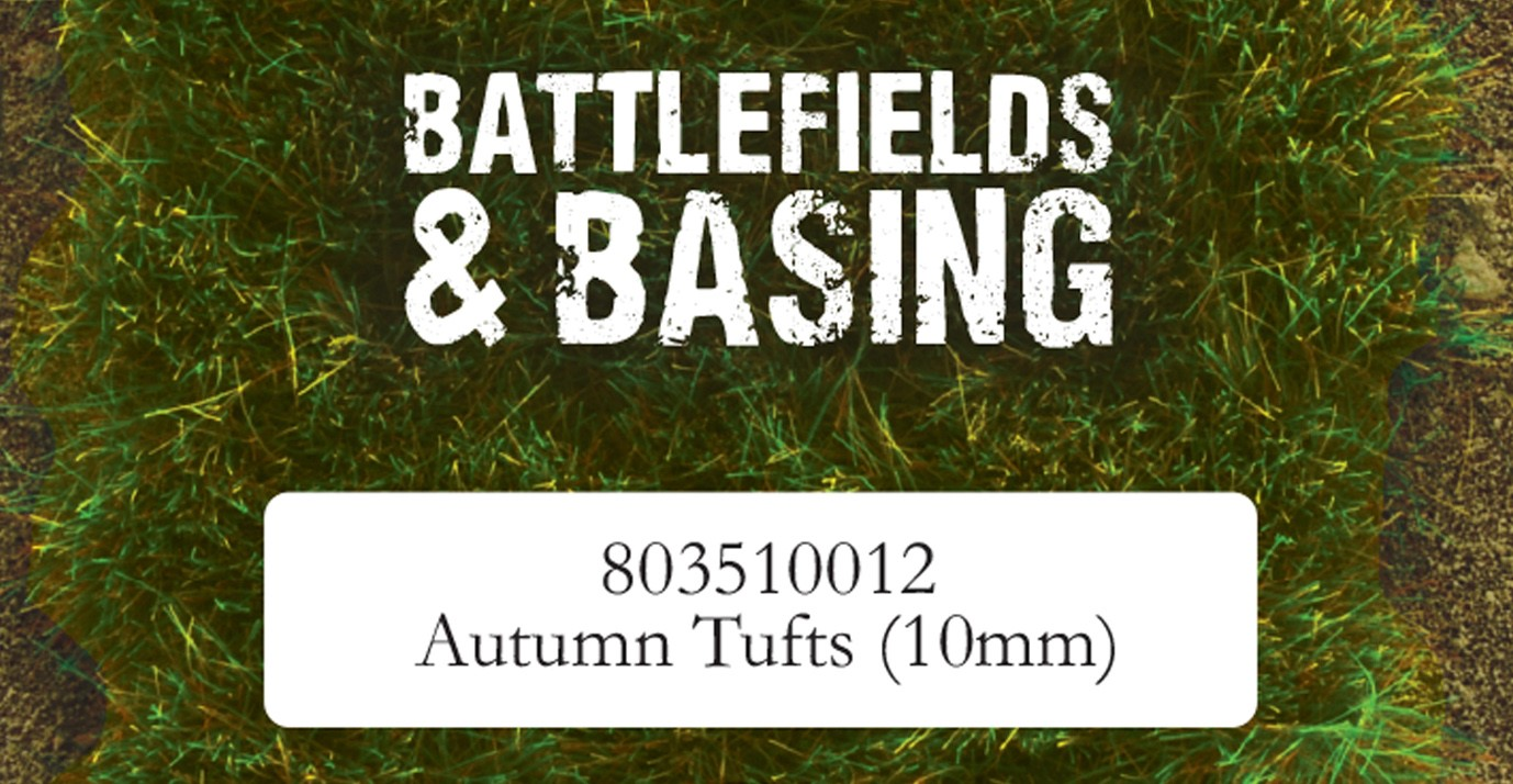 Warlord Scenics: Autumn 10mm Tufts Game Box
