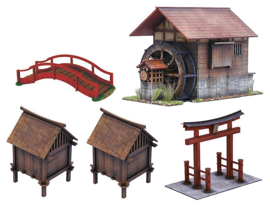 Test Of Honour: Scenery Set Box Front