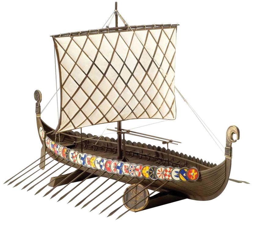 Hail Caesar: Viking Longship Mdf Kit Box Front
