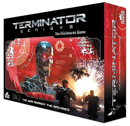 Terminator Genisys: The War Against The Machines - Expanded Core Game Box Front