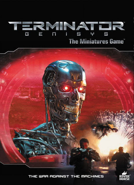 Terminator Genisys: Terminator - War Against The Machines Rulebook Box Front