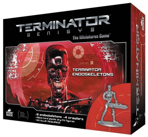 Terminator Genisys: Endoskeletons Box Front