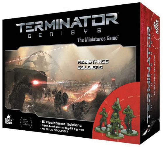 Terminator Genisys: Resistance Soldiers Box Front
