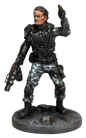 Terminator Genisys: John Connor Box Front