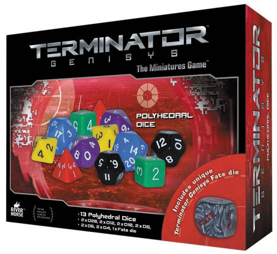 Terminator Genisys: Dice Pack Box Front