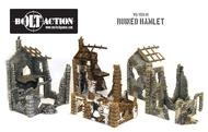 Bolt Action: Ruined Hamlet (3x Buildings) Box Front