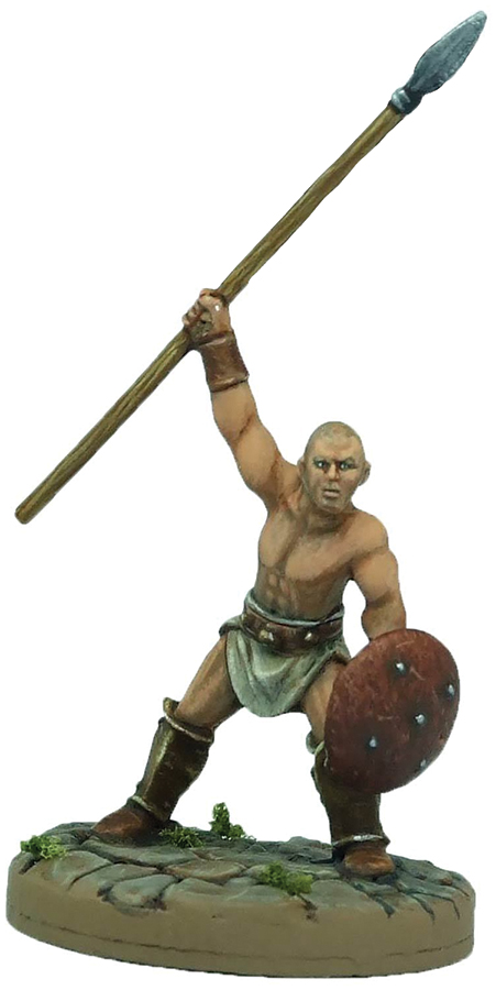 Gangs Of Rome: Fighter Quartus Box Front