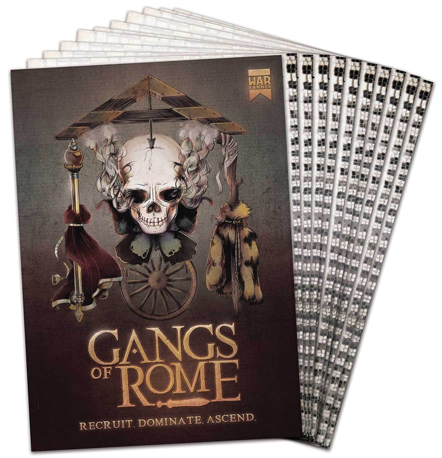 Gangs Of Rome: Core Rulebook Box Front
