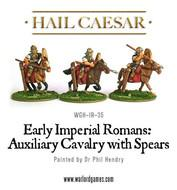 Hail Caesar: Imperial Rome Auxiliary Cavalry With Spears (3) Box Front