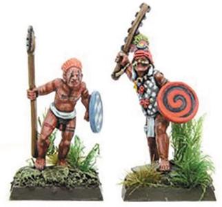 Savage Core: Jaguar Tribe Chief & Son Box Front