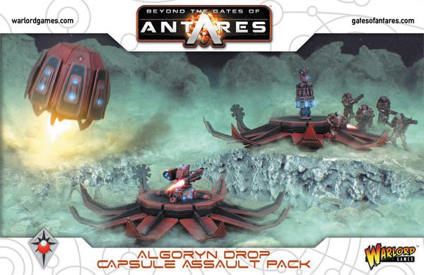 Gates Of Antares: Algoryn Drop Capsule Assault Pack Box Front