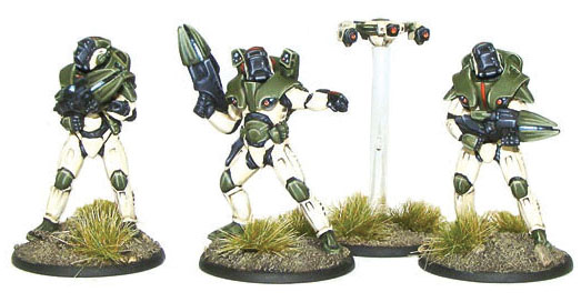 Gates Of Antares: Concord C3 Strike Team Command Box Front