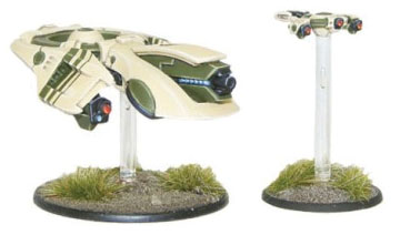 Gates Of Antares: Concord C3 Plasma Drone With Plasma Cannon Box Front