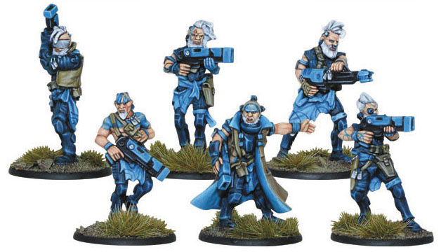 Gates Of Antares: Freeborn Mhagris Feral Squad Box Front