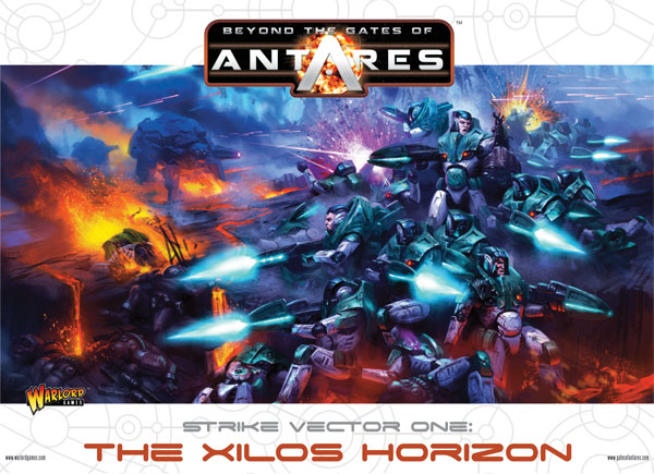 Gates Of Antares: Strike Vector One: The Xilos Horizon - Battle Starter Set Box Front