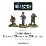 Bolt Action: British Army Forward Observer Team Box Front