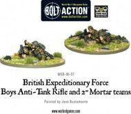 Bolt Action: British Early War British Anti-tank Rifle Team Box Front