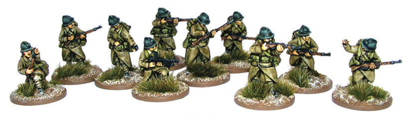 Bolt Action: French Army Infantry Section Box Front