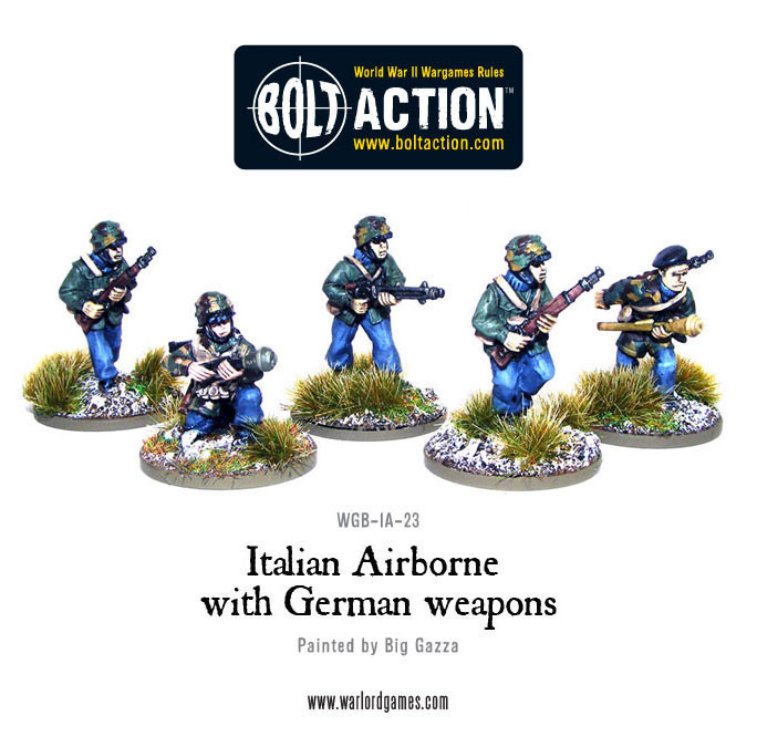Bolt Action: Italian Airborne - German Weapons Box Front