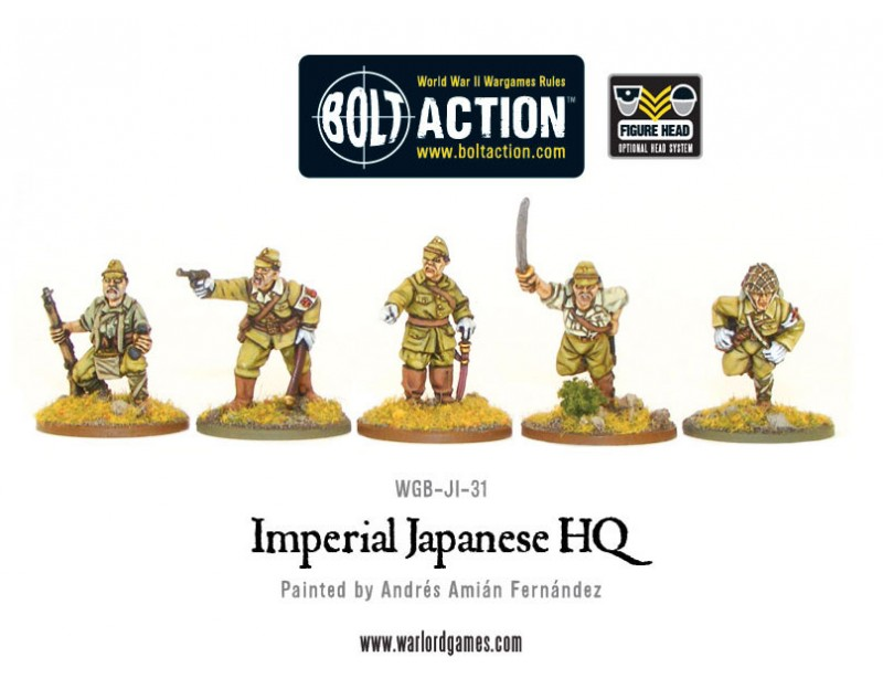 Bolt Action: Imperial Japanese Hq Box Front