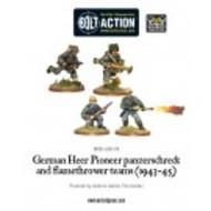 Bolt Action: German Heer Pioneer, Panzerschrek/flame Box Front
