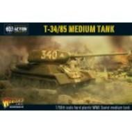 Bolt Action: Soviet T34/85 Soviet Medium Tank Box Front