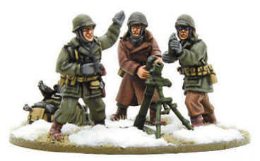 Bolt Action: Us Army Medium Mortar(winter) Box Front