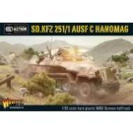 Bolt Action: German Sd.kfz 251/1 Ausf C Hanomag (german Halftrack) Box Front
