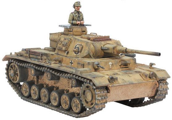 Bolt Action: Panzer Iii Box Front