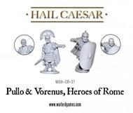 Hail Caesar: Caesarian Rome Pullo & Verenus, Heroes Of Rome Box Front