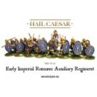 Hail Caesar: Imperial Rome Auxiliaries (20 Plastics + 4 Metal Command) Box Front