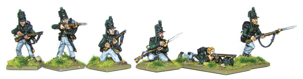 Black Powder: Kgl 2nd Light Battalion With Rifles Box Front
