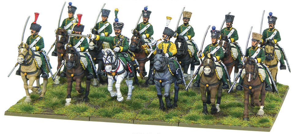 Black Powder: Napoleonic French Chasseurs & Cheval Light Cavalry Box Front