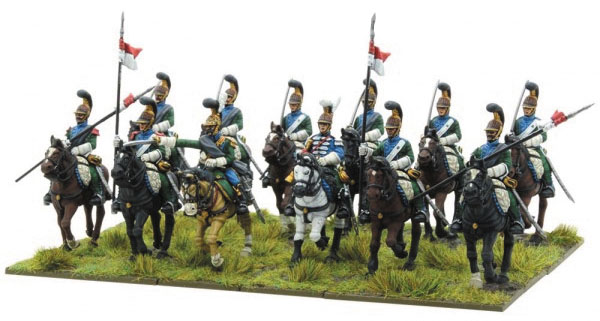 Black Powder: Napoleonic French Line Lancers Box Front