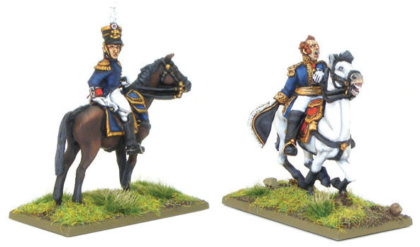 Black Powder: Napoleonic Marshal Ney And Mounted French Officer Box Front