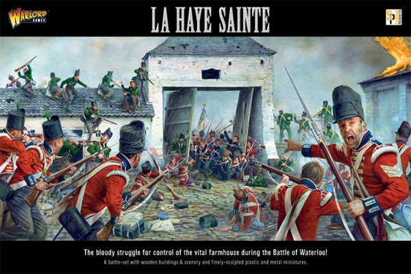Black Powder: Le Haye Sainte Box Front