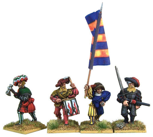 Pike And Shotte: Landsknecht Command(4) Box Front