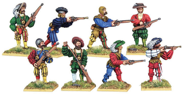 Pike And Shotte: Landsknecht Arquebusiers(8) Box Front