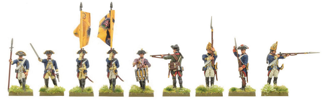 Black Powder: Hessian Regiment Box Front