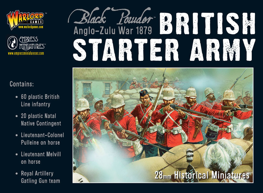 Black Powder: Anglo Zulu War 1879 - Starter Army Box Front