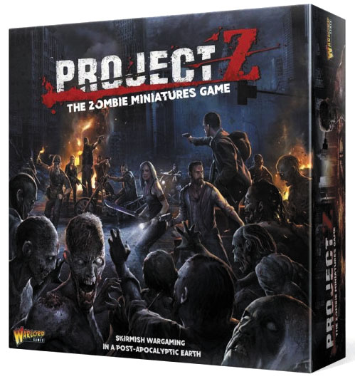 Project Z: Starter Pack Box Front